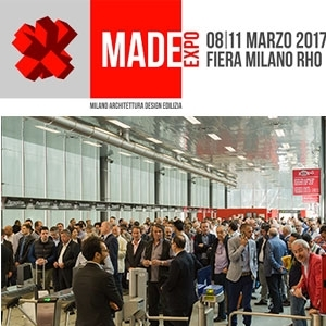"""WOODWORKING AREA"" A MADE EXPO - FIERAMILANO RHO, 8-11 MARZO 2017"